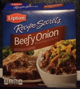 Lipton Recipe Secrets Beefy Onion Soup Mix